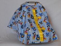 Mickey Mouse baby, car seat, cover/canopy by SewCuteNanna on Etsy https://www.etsy.com/listing/252815950/mickey-mouse-baby-car-seat-covercanopy