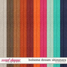 Boheme Dream: Shimmers by Amber Shaw
