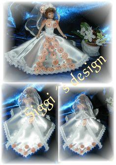 Brautkleid 8 - Handarbeit