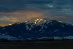 CHICO MOUNTAIN - PARADISE VALLEY, MONTANA -- PHOTO BY JIM YOUNG