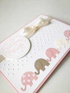 Baby- & Geburtskarten - Taufkarte - Einladung zur Taufe - ein Designerstück von Herzdinge bei DaWanda