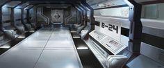 inside star wars spaceship - Google Search