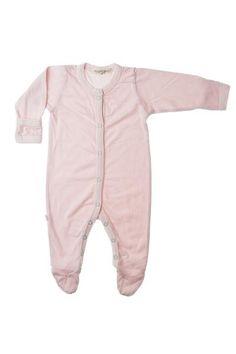 PAIGELAUREN baby - CLASSIC LAYETTE ROMPER W/FOOTIE - layette.  coming soon to weemondine.com!!