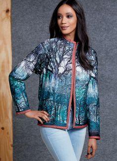 V1608 Cardigan Pattern, Jacket Pattern, Vogue Sewing Patterns, Coat Patterns, Silk Crepe, Sewing Clothes, Jackets, Coat Hooks, Blazer Dress
