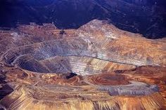 Copper Mine just outside Salt Lake City, Utah