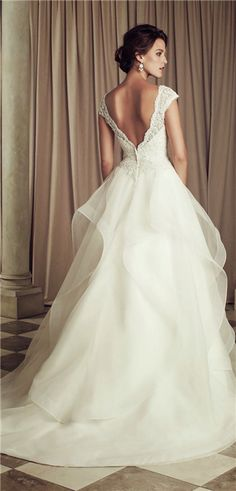 beaded french lace wedding dress style 4458