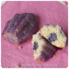 Glazed Blueberry Madeleines - Vagabond Baker