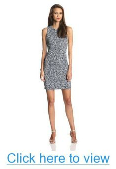 Vince Camuto Women's Sleeveless Sea Snake Dress
