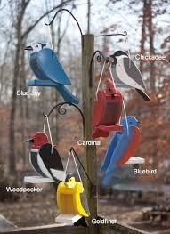 Image result for wooden bird shaped bird feeder
