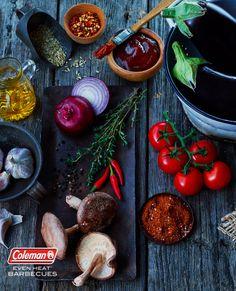 © Steve Krug x Coleman | krugstudios.com #spices #sauces #bbq