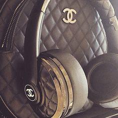 Chanel never misses a beat #love #chanel #beatsbykarl