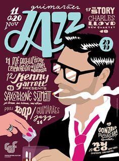 guimarães jazz poster