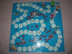 jeu_INOUK: Pécher le nombre de poisson indiqué et rejeter à l'eau le nombre de poisson indiqué