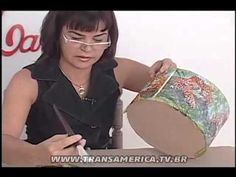 TV Transamérica - Decupagem com relevo