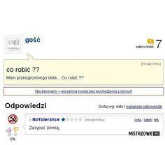 Zero The Hero, Really Funny, Haha, Humor, Poland, Life, Text Posts, So Funny, Ha Ha