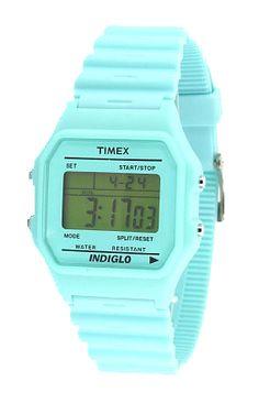 Timex 80' Blue Bubble