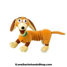 Dachshund Slinky Dog Junior Plush 8 inch
