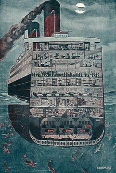 History Discover Resultado de imagen para RMs Titanic cross section Rms Titanic Titanic Boat Les Beatles Shipwreck History Facts World History Sailing Photos Night Rms Titanic, Titanic Movie, Titanic Boat, Titanic Wreck, Titanic Sinking, Titanic Artifacts, Les Beatles, Shipwreck, History Facts