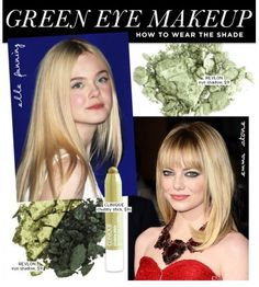 Love Emma Stone's eye makeup