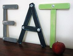 Interesting way to make letters