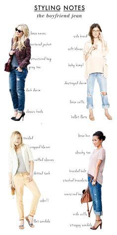 <3 Boyfriend Jeans