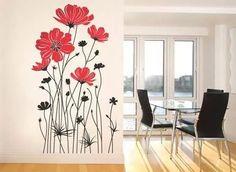 vinilos decorativos arboles flores frases + regalo!!!