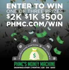 $2,000 Cash Sweepstakes!  Ends: 12/31/2017 Value: $2000 Eligibility: US (No RI) 18+ Daily Entry  Enter: http://giveawayplay.com/2017/02/04/2000-cash-sweepstakes-platinum-home-mortgage/