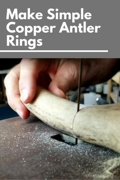 Deer Antler Crafts, Deer Antler Ring, Antler Art, Deer Antlers, Deer Antler Jewelry, Bone Carving, Wood Carving Art, Wooden Jewelry, Resin Jewelry