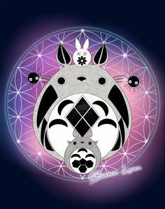 Totoro of Life by biancaloran.deviantart.com on @DeviantArt