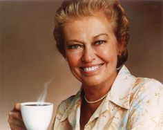 Virginia Christine (1920 - 1996).....MRS OLSON FROM FOLGERS COFFEE