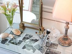Chic Makeup Vanities and Dressing Tables for Her : Rooms : HGTV