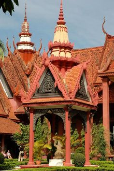National Museum, Phnom Penh, Cambodia.  It was practically empty when I visited...