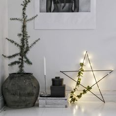 scandinavian inspired christmas decorations