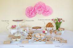 DIY: Cómo montar una mesa de dulces con productos regionales via BodaBella.es