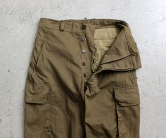 VINTAGE 1960's French Military M-47 (DEAD STOCK)