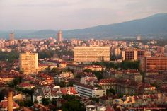 bulgaria sofia | took this picture in 2004, through a closed window of Rodina Hotel.