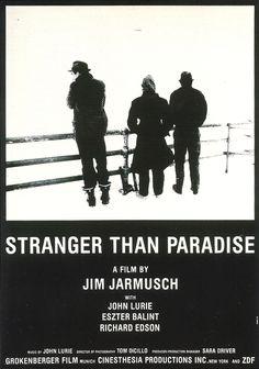 Stranger than Paradise 1994 (April 2014). A film by Jim Jarmusch with John Lurie, Eszter Balint and Richard Edson