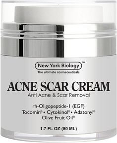 Acne Scar Cream from New York Biology - EGF Anti Acne Cream Helps Get Rid of Acne Scars while Hydrating & Regenerating Skin - 1.7 fl oz. Read the rest of this entry » http://acnereview.biz/acne-scar-cream-from-new-york-biology-egf-anti-acne-cream-helps-get-rid-of-acne-scars-while-hydrating-regenerating-skin-1-7-fl-oz/