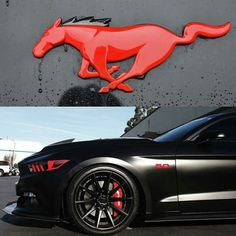 The king of American muscle cars -- Ford Mustang -- is back with a fresh design with the new 2018 Mustang. Black Mustang, New Mustang, Mustang Cars, S550 Mustang, Ford Mustang Shelby Gt500, Car Ford, Ford Gt, Dodge, Mc Laren