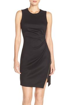 Marc New York Side Zip Ponte Sheath Dress available at #Nordstrom