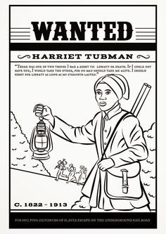 Harriet Tubman - Free Colouring Page, Links & Resources | Amazing Women of History