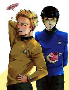 ST: Turn around, Jim! by CanneDeBonbon.deviantart.com on @deviantART