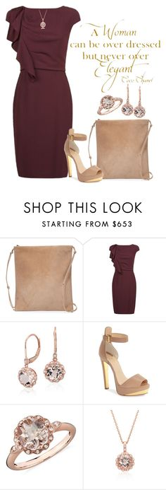 """""""elegant"""" by nickiefinn ❤ liked on Polyvore featuring The Row, Chanel, MaxMara, Blue Nile and Christian Louboutin"""
