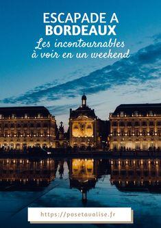 Vous partez en Gironde ? Vous vous demander quoi voir et quoi faire à Bordeaux ? Voici mon best of des 5 lieux à voir à Bordeaux.   #travel #blogger #voyage #blogueusevoyage #france #bordeaux