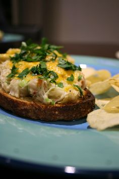 Dungeness Crab & Artichoke Melts. Oh my heavens.