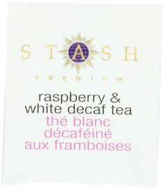 Stash Premium Decaf White Raspberry Tea Bags 100-Count Box Caffeine In Tea, Decaf Tea, British Tea Brands, Numi Organic Tea, Lipton Ice Tea, White Raspberry, Black Tea Bags, Tea Plant, Types Of Tea