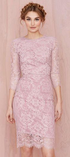 """""""Pretty in Pink"""" For Love and Lemons Pot Pourri Dress"""