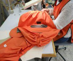 Making of dust bag #handmade #craftsmanship