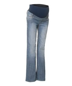 Take a look at this Stone Wash Bangkok Trouser Maternity Jeans by Noppies Maternity on #zulily today!