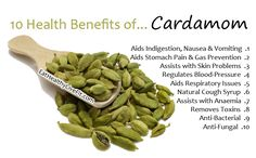 10 Health Benefits of Cardamom | Eating Healthy Living Fit - EatHealthyLiveFit.com